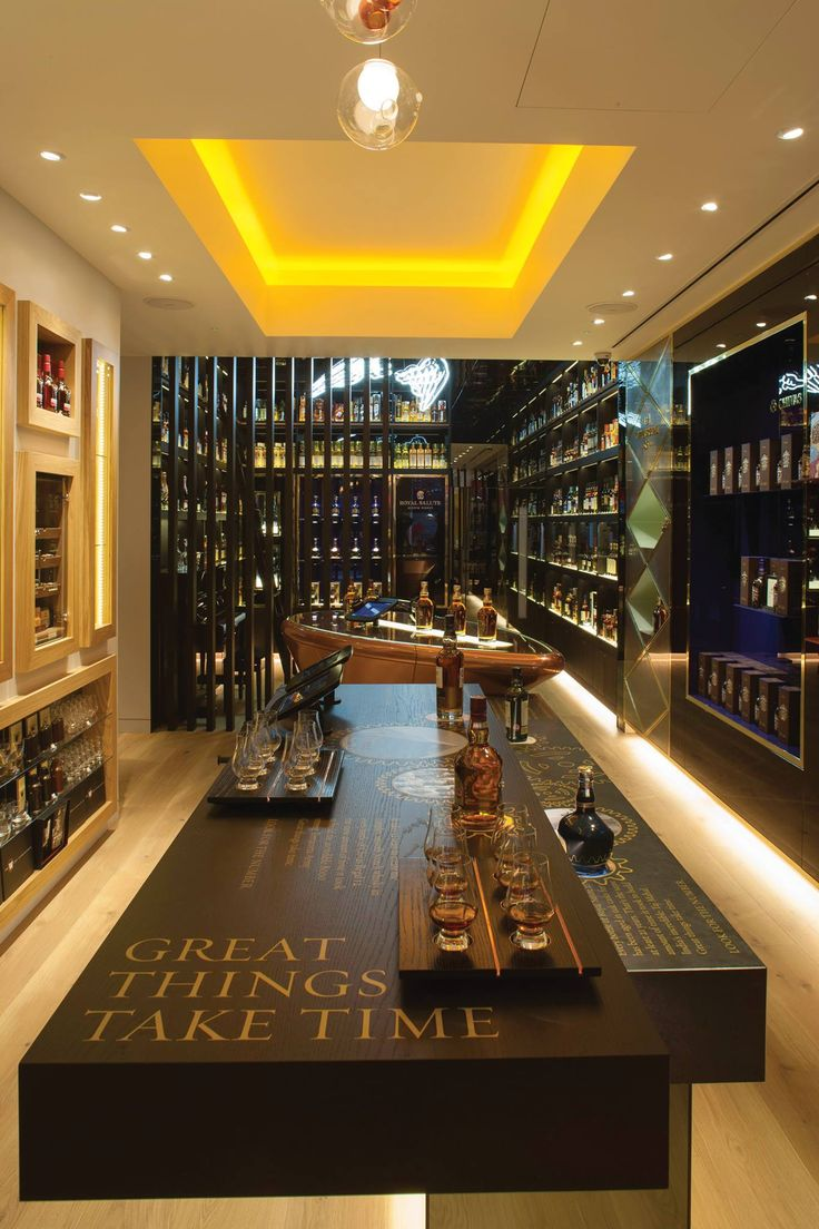 The #Whisky Shop wins the NAS 2013 Design Partnership Award for Retail