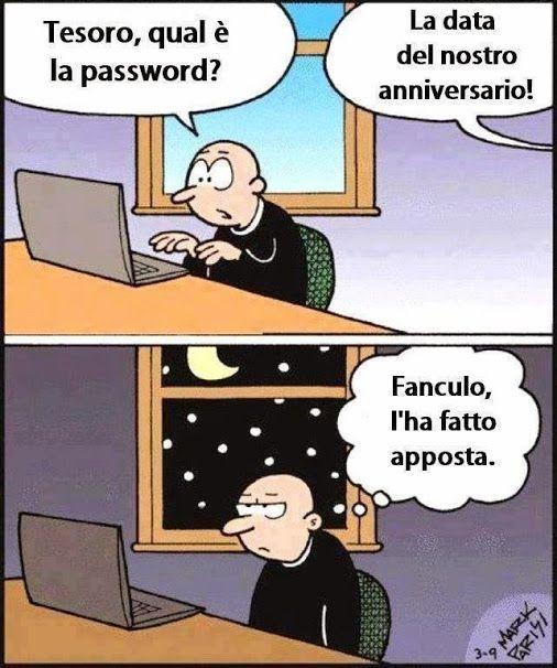 qual e la password - 13038