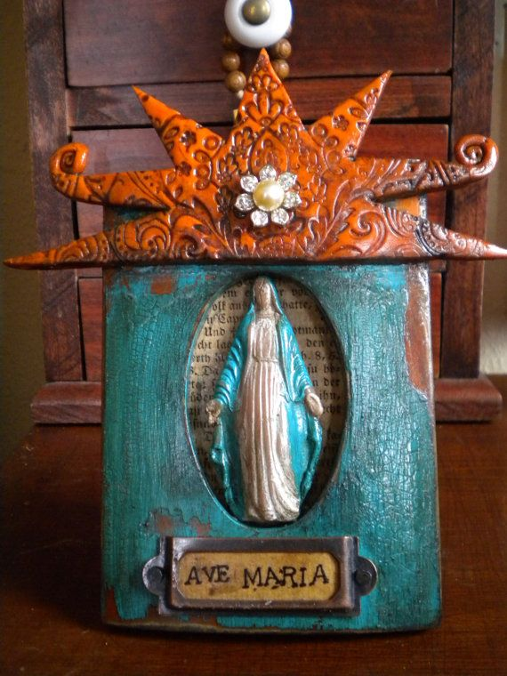 17 Best Images About Shrines And Altars On Pinterest: 17 Best Images About Altars/ Nichos/ Shrines/ Retablo On