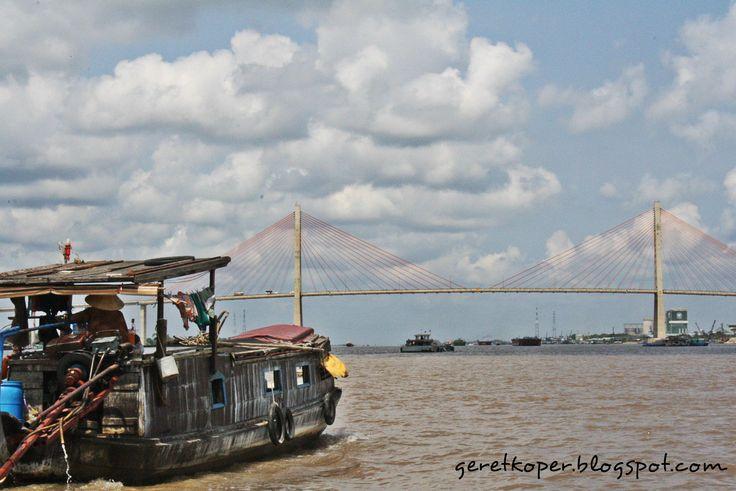 Mekong River, My Tho, Vietnam