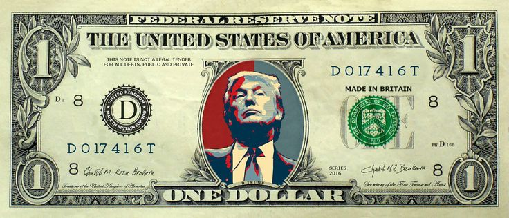 MAKE AMERICA GREAT AGAIN! The dollar collection. – CHAKIB BENKARA Official Site
