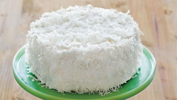 I must make this! Coconut Layer Cake #vegan