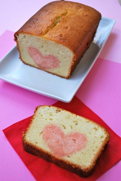 how to make a cake with a heart inside