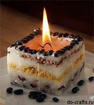 Как сделать свечи своими руками в домашних условиях.