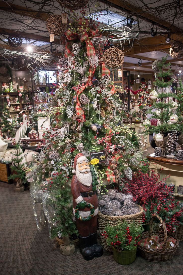 2014 Christmas Trees At Bucks Country Gardens. Add Country Charm To Your  Tree With Plaid