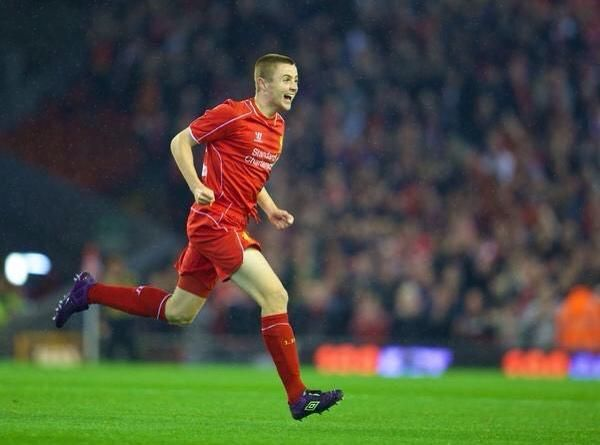 That moment when you score on your debut for Liverpool..... Jordan Rossiter 23.9.14 v Middlesboro