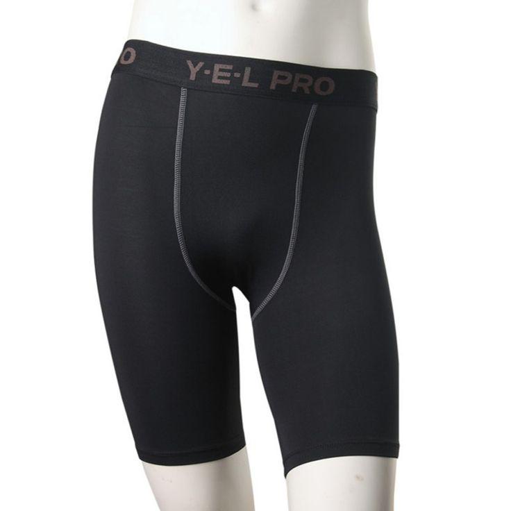 Mens Tights Compression Shorts Base Layer Skins Short Pants Man