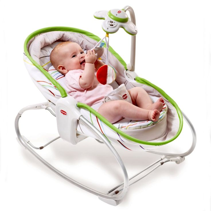 """<p style=""""text-align: justify""""> This innovative Tiny Love product features a fun seat fitted with an engaging toy, a rocker that soothes baby with gentle rocking movements, and a flat pad (180 ° ) with raised borders, which makes for a safe and cozy sleeping environment. Three uses in one product!</p>"""