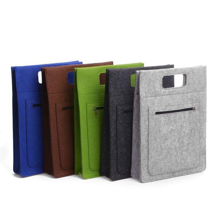 Barato Mulheres / homens de lã de feltro laptop 12 polegada 13 polegada 14 polegada de 15.6 polegadas laptop bolsa, Compro Qualidade Bolsas & cases para notebook diretamente de fornecedores da China: