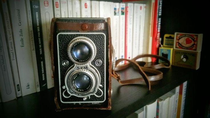 appareil photo vintage sem semflex 154 type 14 fx de la boutique lefoutoirselonanais sur etsy. Black Bedroom Furniture Sets. Home Design Ideas