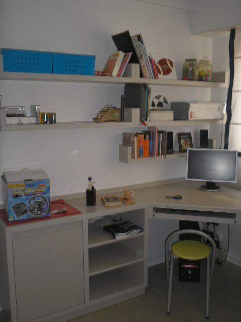 Biblioteca y escritorio àra dormitorio niños