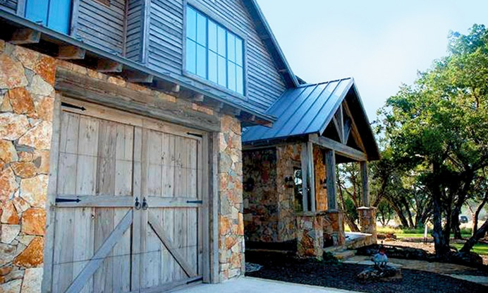 42 Best Rustic Garage Images On Pinterest Steel Garage