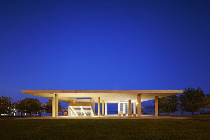 Chicago Horizon, by Guy Nordenson & Associates won the Wood in Government Buildings award