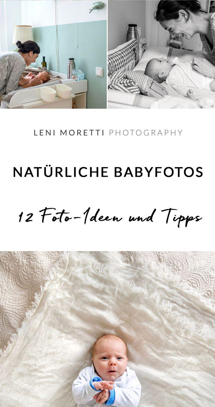 12 Foto-Ideen für die ersten Wochen mit Eurem Baby zu Hause