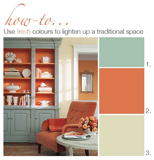 "1.  HC-138 ""Covington Blue"" by Benjamin Moore.  2. 2170-30 ""Autumn Cover"" by Benjamin Moore.  3. OC-10 ""White Sand"" by Benjamin Moore."