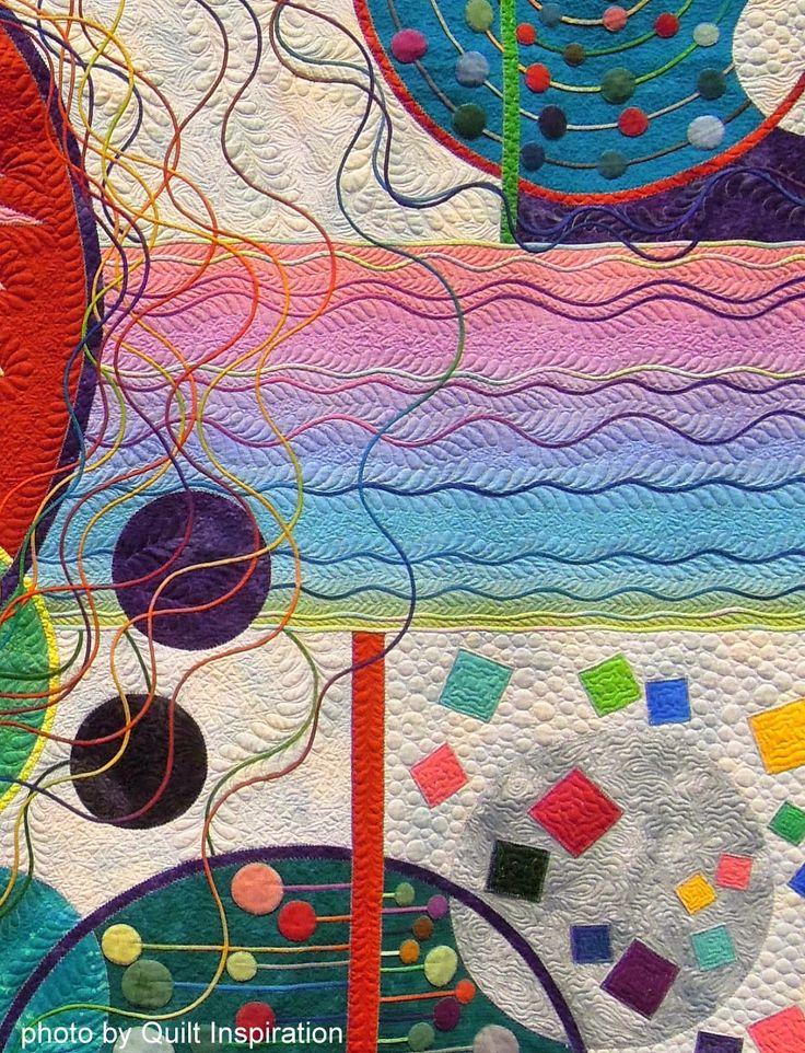 Quilt Inspiration: Modern Quilt Month: Japanese art quilts