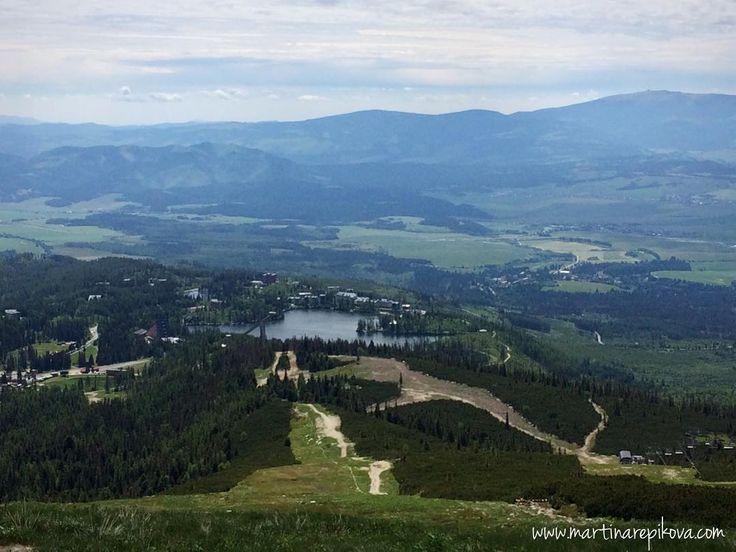 Vyhlad z Predneho Soliska na Strbske Pleso / Mountain View in High Tatras #strbskepleso #tatry #travel #slovakia