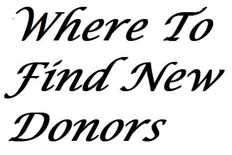 24 best Acquiring New Donors images on Pinterest Fundraisers