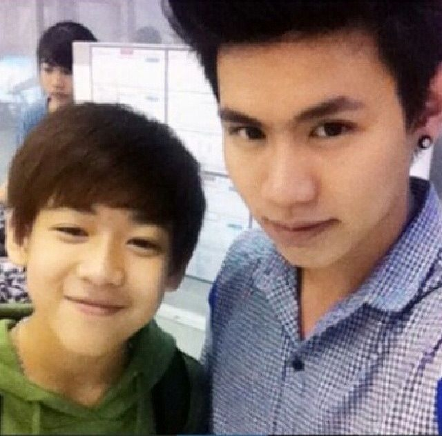 Bam Bam with his brother | K-pop | Pinterest | Brother