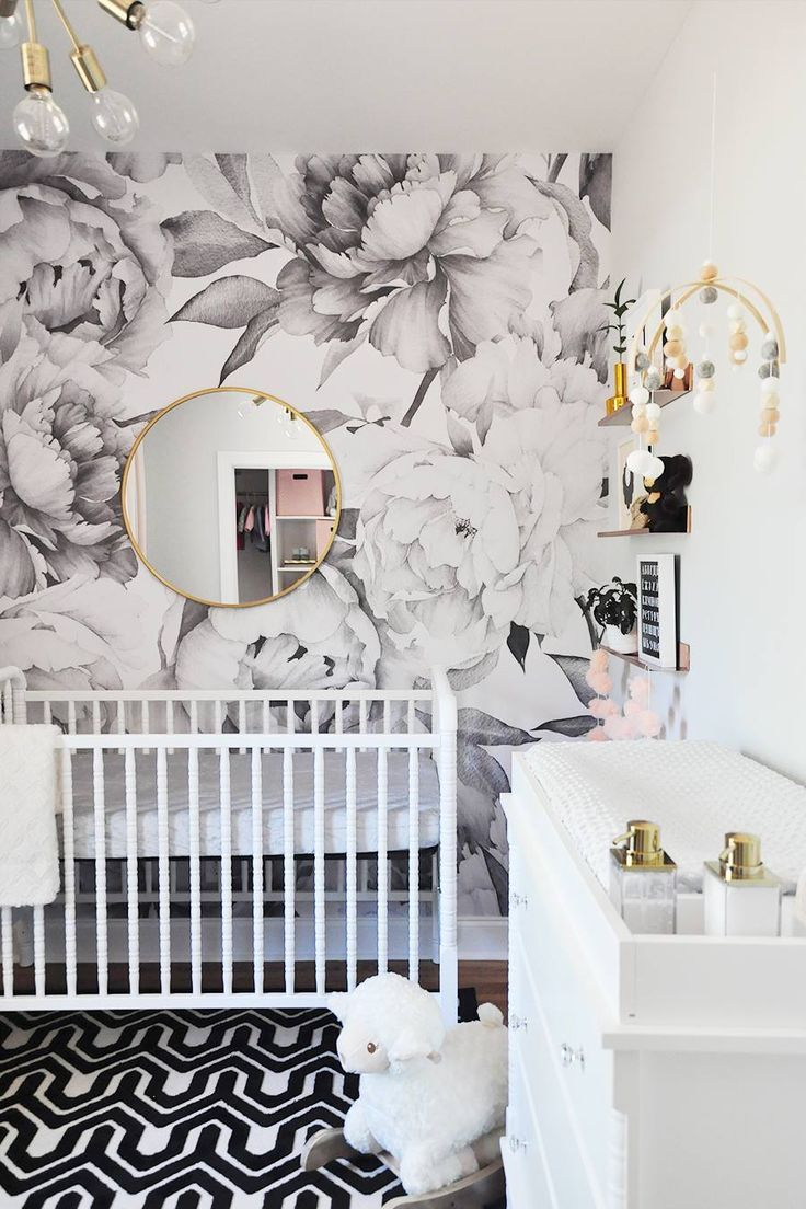 21 Nursery Ideas For Modern Families Modern Baby Room White
