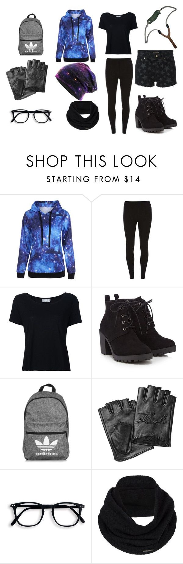 """""""1"""" by sabine-rainhart on Polyvore featuring Dorothy Perkins, Frame, Red Herring, adidas, Karl Lagerfeld, prAna and Yves Saint Laurent"""