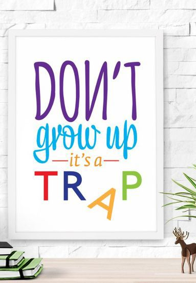 Kids Wall Quote Home Decor Idea Affiliate Art Room Decoration