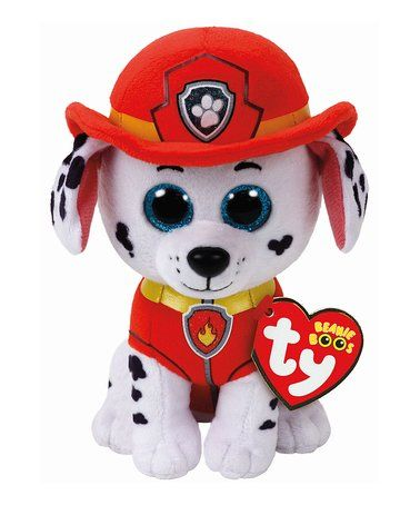This PAW Patrol Marshall Plush Toy is perfect! #zulilyfinds