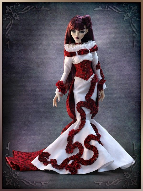 23 Best Evangeline Ghastly S Wedding Board Tonner Doll