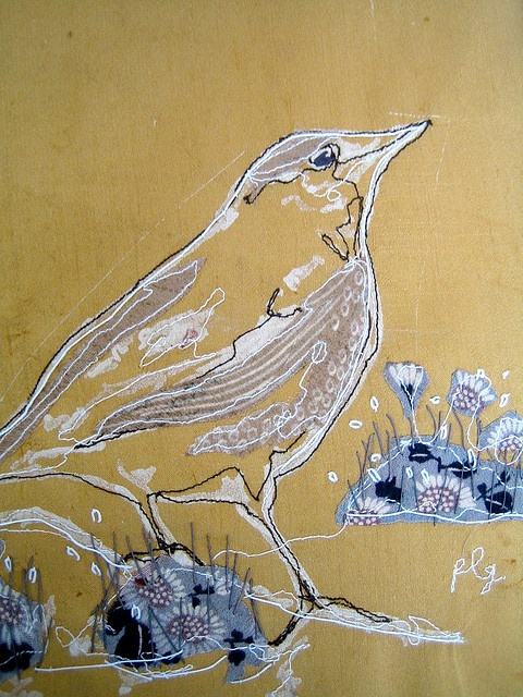 Yellow Bird by Penny Leaver Green ??