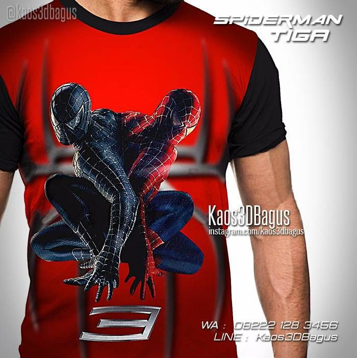 Kaos SPIDERMAN, Kaos 3D Spiderman 3, Kaos Film Spiderman, Kaos Superhero, WA : 08222 128 3456, LINE : Kaos3DBagus, https://kaos3dbagus.wordpress.com/2015/07/15/jual-kaos-spiderman-3d-kaos-3-dimensi-spiderman-kaos-gambar-spiderman/