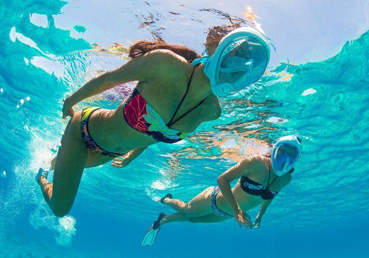 Le masque Easybreath Subea By Decathlon peut aussi filmer les fonds marins ! (Journaldugeek)