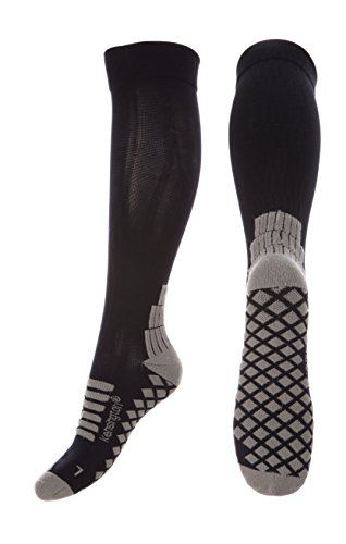 From 11.99 Kensington Cushioned Compression Socks For Men Women Running Flying Pregnancy Medical Travel Work Plantar Fasciitis Seamless Support Hose  Reduce Leg Pain Shin Splints Sports Recovery