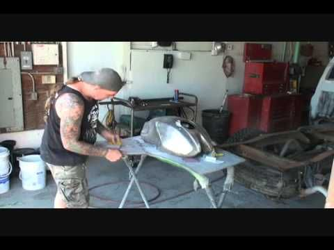 How To Paint Your Motorcycle Tank: From Start To Finish-Part 1 - YouTube