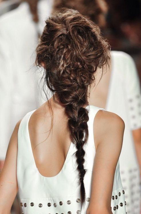 absolutely loved the braids on my spring '14 runway