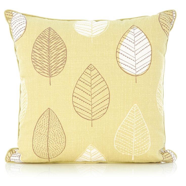 George Home Green Leaf Cushion | Cushions & Throws | ASDA direct
