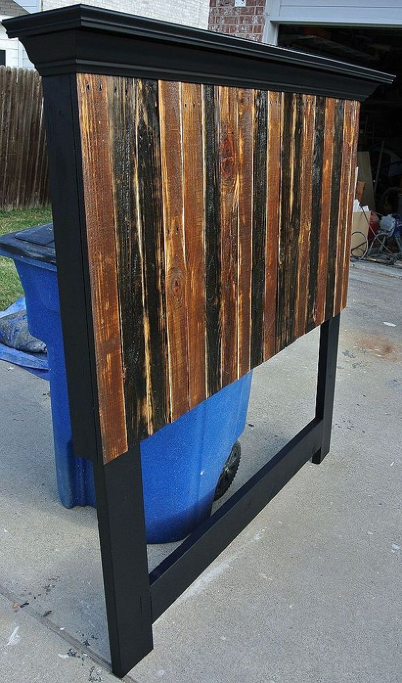 Pallet Headboard Made to Fit a Full and Queen Size Bed :: Hometalk