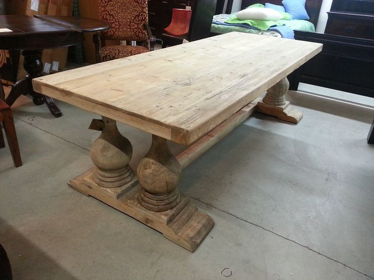 farm style dining tables for sale. cheap unpolished vintage farm
