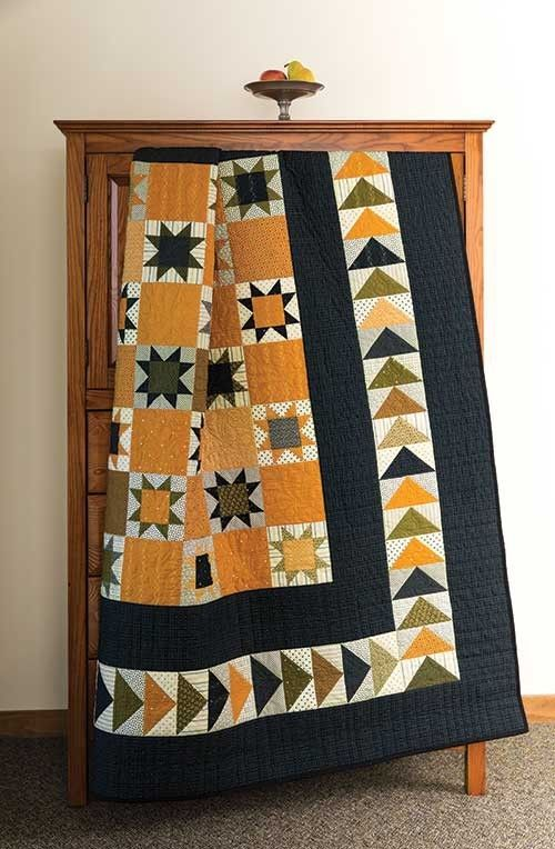 Flying Geese & Stars Quilt Pattern