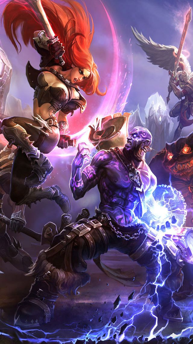 iPhone Retina Wallpapers, League Of Legends Clash