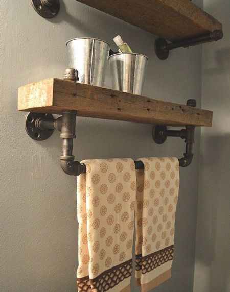 Reclaimed Barn Wood Bathroom Shelves Made Out Of Salvaged Lumber From A  Saline Michigan Part 94