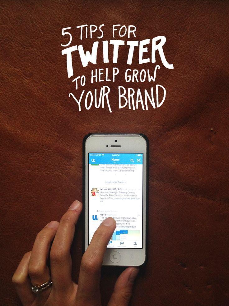 5 Tips for Twitter To Grow Your Brand | The Fresh Exchange | Blogging Tips | Entrepreneur | Social Media
