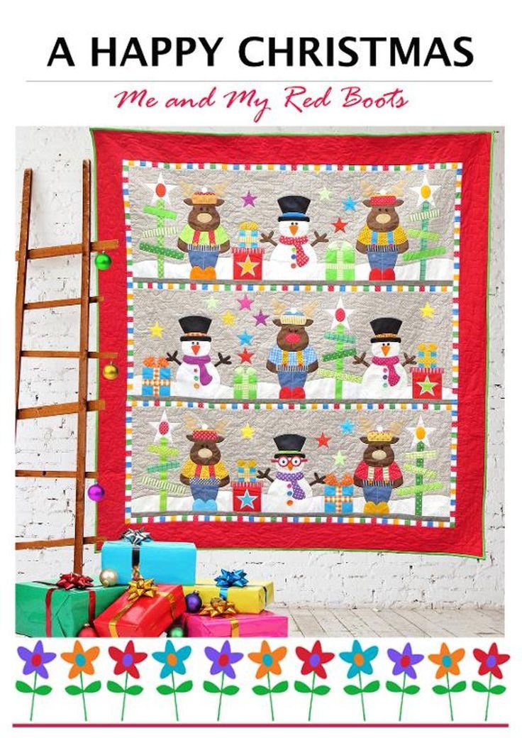 Quilt Patterns On Craftsy : 354 beste afbeeldingen over Christmas Quilts - 2 op Pinterest - Quilt, Wandkleden en Quilten