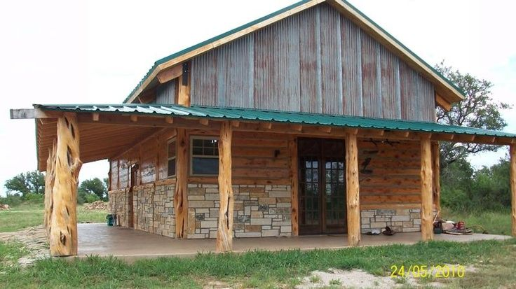 284 best barn home images on pinterest metal building for Metal house plans with wrap around porch
