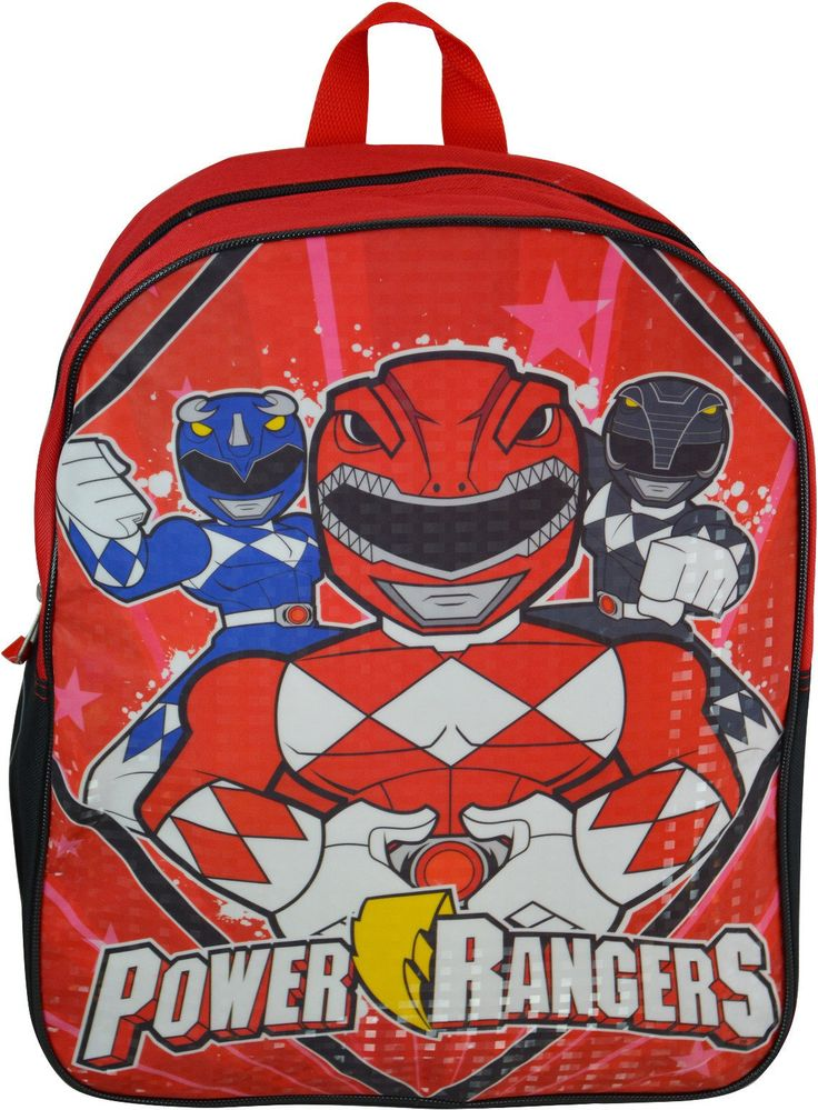 "Power Rangers 15"" Backpacks - 48 Units"