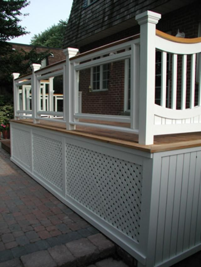 Deck Pictures: Deck Railing Picture