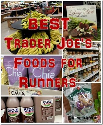 Trader Joe's MUST HAVES for Runners