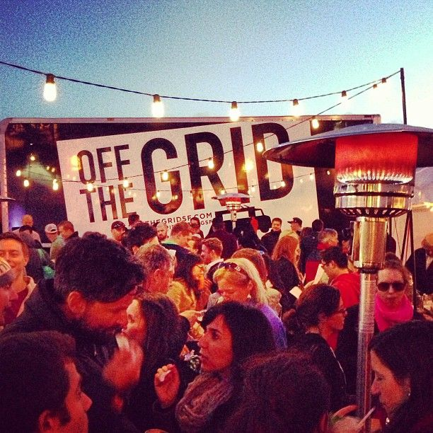 Off the Grid: Fort Mason Center is a great gathering of food trucks on Fridays evenings! Great way to start off the weekend