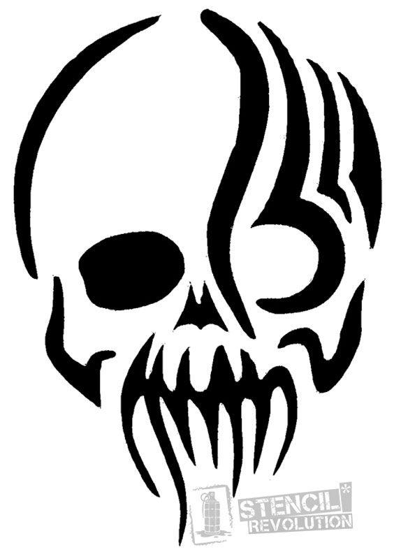 Zombie Stencils on Stencil Revolution | Fall Templates ...