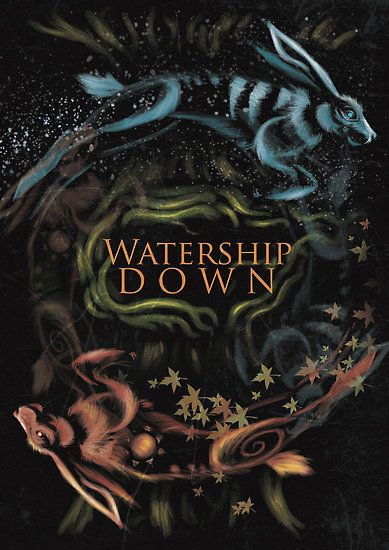 Watership Down alternative book cover by Traumatron