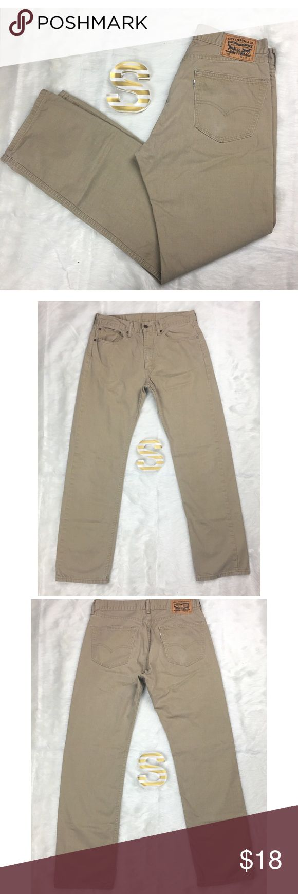 "Levi Strauss Mens Khaki Pants Size 34x34 Levi Strauss men's khaki pants size 34x34   Measurements- Waist: 34"" Rise: 11"" Inseam: 32""    Customer service is my #1 priority! I strive to not only meet, but to exceed the standard. If for any reason you are unhappy with your order, I will make it right!     Thank you for supporting small business! Signature by Levi Strauss Pants Chinos & Khakis"